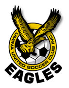 Umina United Eagles Soccer Club Logo